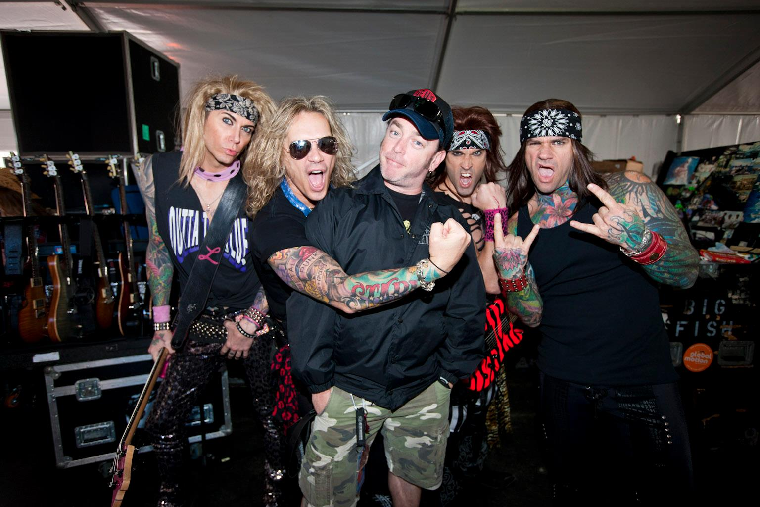 Steel Panther Tour Manager
